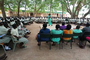Career guidance at Loreto Girls boarding secondary school